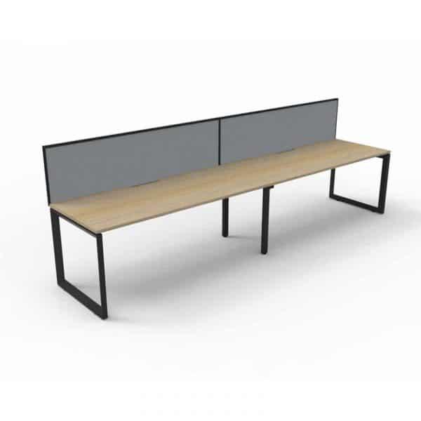 long office desk single sided